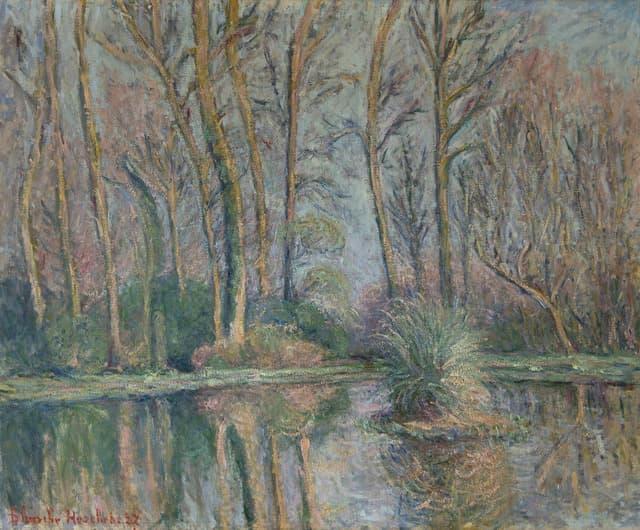 Impressionnisme Blanche Hoschédé