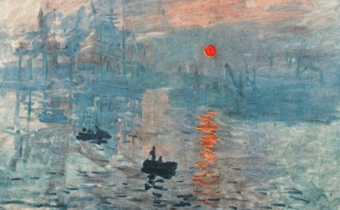 Impressionnisme claude monet Impression soleil couchant