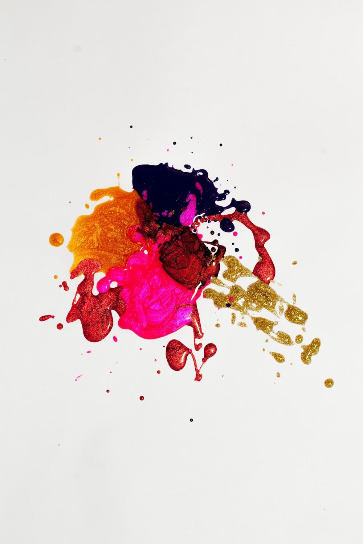 image ambiance tache de peinture
