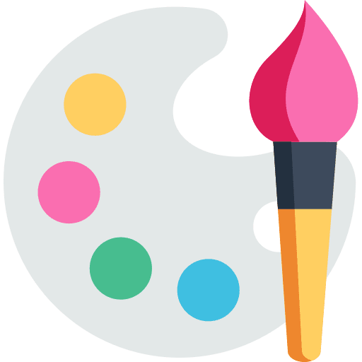 icon couleur peinture