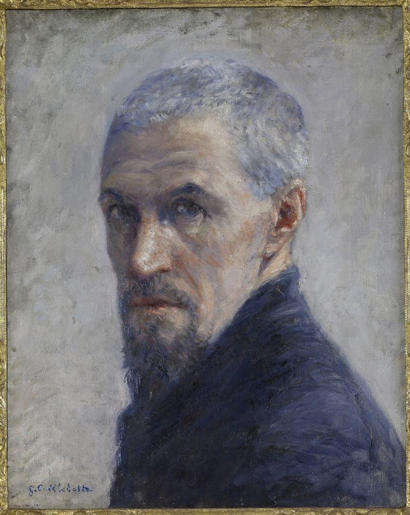 Auto-Portrait de Gustave Caillebotte