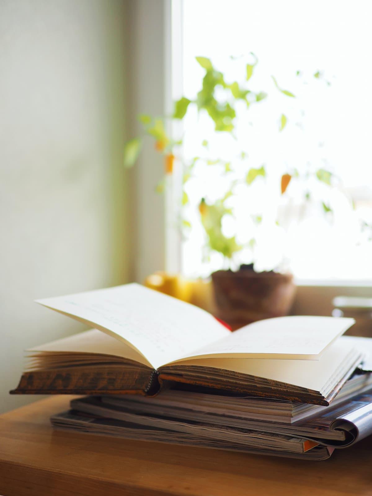 image d'illustration de livre ouvert